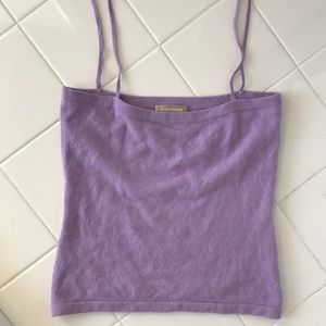 Nordstrom Cashmere Lilac Top